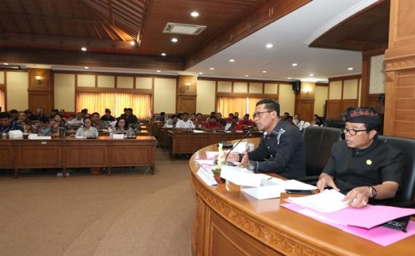 Penyerapan Aspirasi  Ranperda Inisiatif DPRD Kabupaten Badung  tentang Fasilitas Parkir untuk Umum d