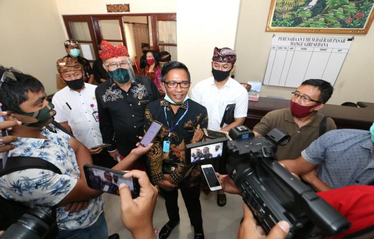 Kunjungan Kerja Komisi III ke Perumda Pasar MGS Badung