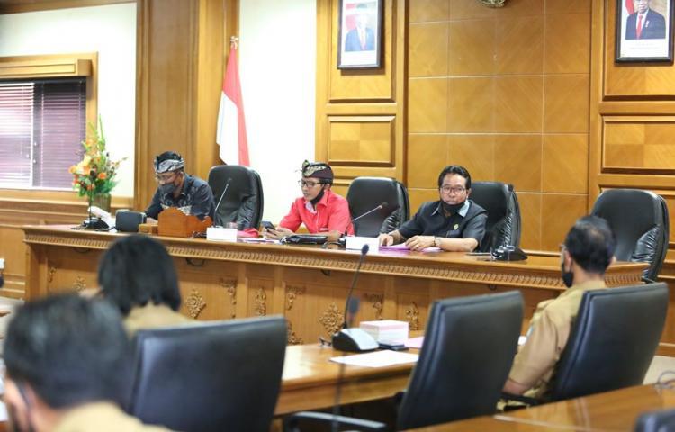 Pansus RDTR Kecamatan Abiansemal gelar Rapat Kerja Perdana.