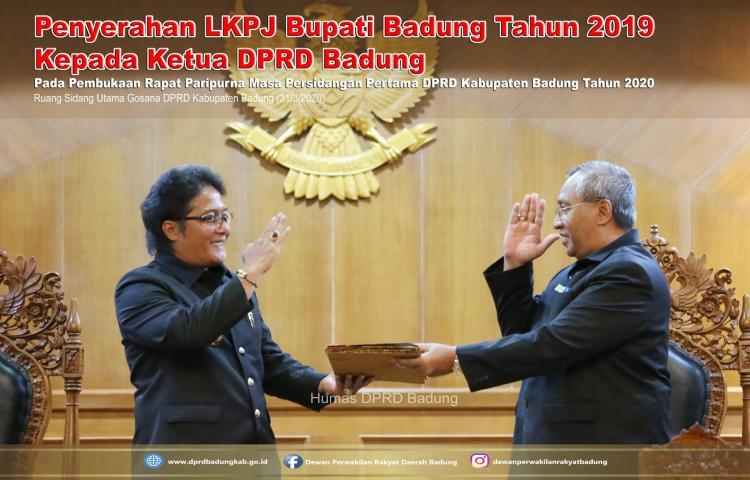 Pembukaan Rapat Paripurna Masa Persidangan Pertama DPRD Kabupaten Badung Tahun 2020