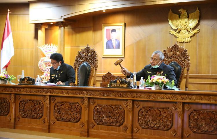 Penutupan Rapat Paripurna Masa Persidangan Pertama DPRD Kabupaten Badung Tahun 2020